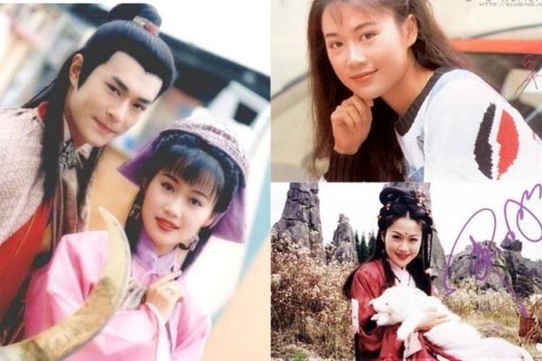 'Chuc Anh Dai' Luong Tieu Bang: Tuoi U50 chat vat nuoi chong hinh anh 1 Lương Tiểu Băng bên Cổ Thiên Lạc trong phim Loan đoan phục thù và ảnh thời quá khứ vàng son.