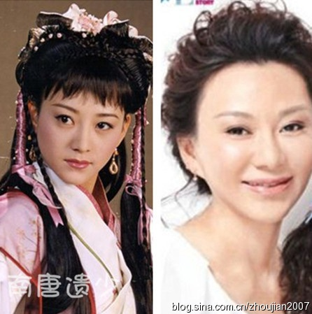 Ngay ay va bay gio cua cac nu hiep trong phim Kim Dung hinh anh 18 Miêu Ất Ất trong năm 2001 khi đóng Nhạc Linh San đẹp xao xuyến. Nhưng hiện nay, cô bị nghi vấn thẩm mỹ quá nhiều đến mức mặt cứng đờ.