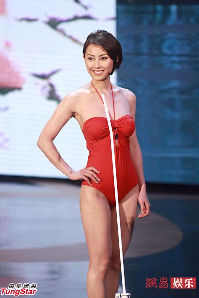 Nguoi dep TVB chap nhan bi sam so khi dien bar vi cat-xe cao hinh anh 2 Người đẹp được chú ý sau khi tham gia cuộc thi Hoa hậu Hong Kong.