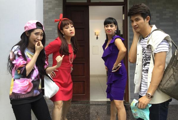 Nhung vai dien an tuong cua Khong Tu Quynh hinh anh 5 Phim sitcom Mắt nai.