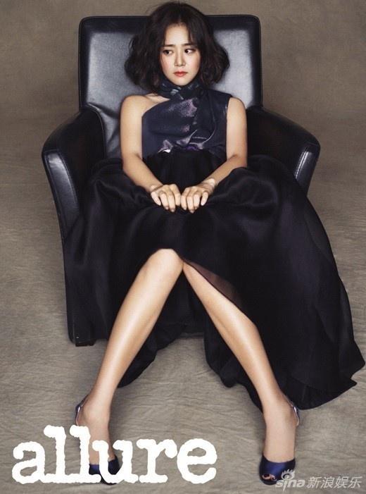 My nhan Han pha cach tren tap chi thang 10 hinh anh 6 Moon Geun Young vẫn chưa có ý định trở lại màn ảnh sau gần 1 năm nghỉ ngơi.
