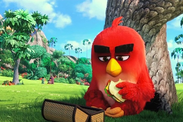 Phim ve Angry Birds ra mat trailer dau tien hinh anh
