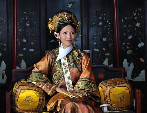 Dan my nhan 'Chan Hoan truyen' ngay ay - bay gio hinh anh 3 Thái Thiếu Phân trong vai Hoàng Hậu.