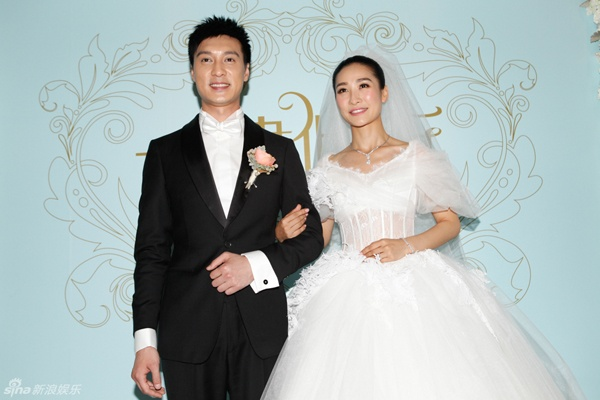 Dan my nhan 'Chan Hoan truyen' ngay ay - bay gio hinh anh 8 Đào Hân Nhiên hạnh phúc trong ngày kết hôn.