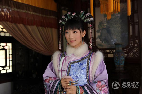 Dan my nhan 'Chan Hoan truyen' ngay ay - bay gio hinh anh 7 Đào Hân Nhiên trong vai An Lăng Dung.