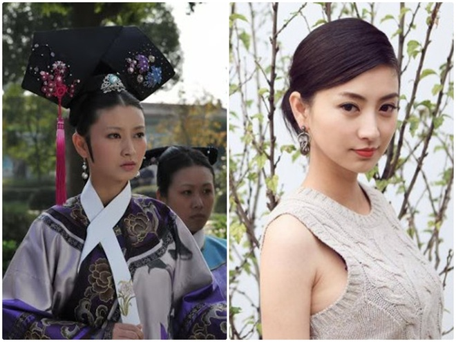 Dan my nhan 'Chan Hoan truyen' ngay ay - bay gio hinh anh 9 Lan Hy trong vai Thẩm My Trang (trái).