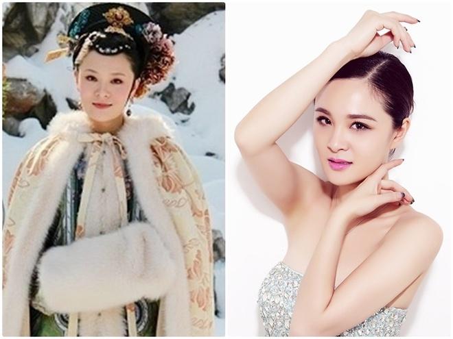 Dan my nhan 'Chan Hoan truyen' ngay ay - bay gio hinh anh 10 Trần Tư Tư trong vai Tào Cầm Mặc (trái).