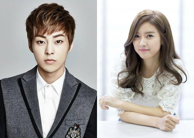 Xiumin đóng cặp với đàn chị Kim So Eun.