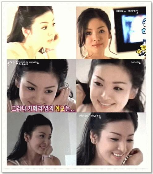 Song Hye Kyo: 15 nam mot tuong dai nhan sac hinh anh 9 Vẻ đẹp trong sáng của kiều nữ trong một mẫu quảng cáo. Cô thường được mệnh danh