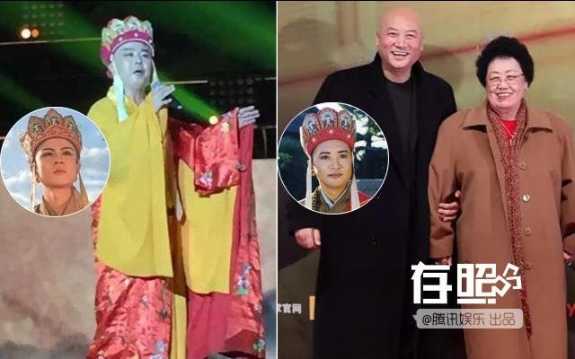 Doi doi lap cua nhung ngoi sao noi tieng voi cung vai dien hinh anh 1 Từ Thiếu Hoa (trái) và Trì Trọng Thụy cùng vợ.