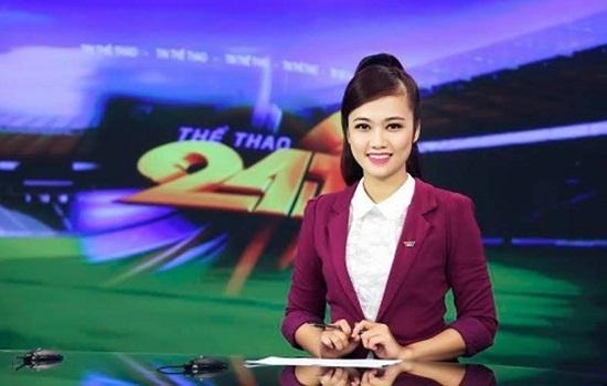 Nhan sac cac BTV the thao cua VTV hinh anh 3 MC Thanh Huyền là một fan trung thành của đội tuyển Arsenal.