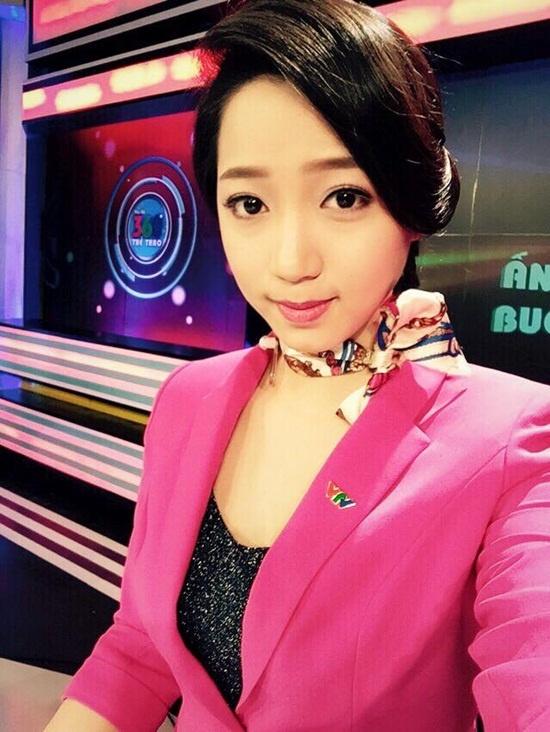 Nhan sac cac BTV the thao cua VTV hinh anh 6 Hoa khôi Wushu Vũ Thùy Linh thành công khi bén duyên với truyền hình.