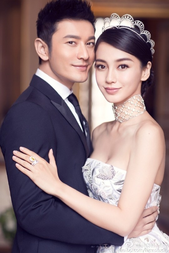 7 ngoi sao ten Dinh noi tieng cua dien anh Hoa ngu hinh anh 2 Angelababy đã kết hôn với Huỳnh Hiểu Minh vào ngày 8/10 vừa qua.