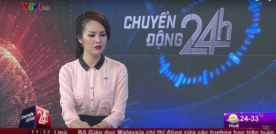 A hau Thuy Van xin loi vi to thai do tren song truc tiep hinh anh 1