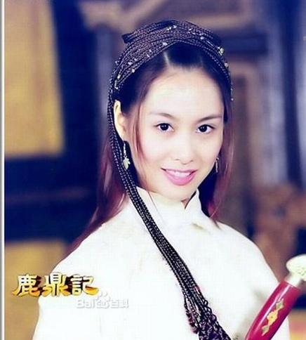 7 co vo trong phim 'Tieu Bao va Khang Hy' sau 15 nam hinh anh 10 Chu Ân trong vai A Kha xinh đẹp.