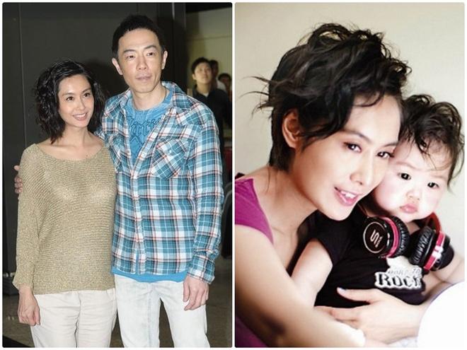 7 co vo trong phim 'Tieu Bao va Khang Hy' sau 15 nam hinh anh 11 Vợ chồng Chu Ân và con gái.