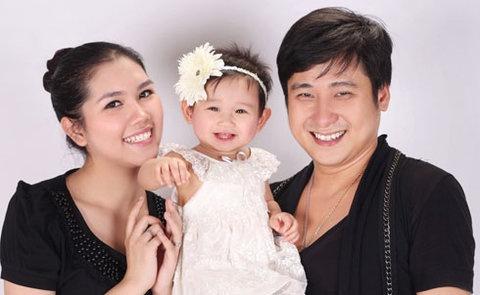 Chuyen ve ga Don Juan bi ghim chan cua Vbiz hinh anh 3 Cô con gái thừa hưởng nét đẹp của cả bố và mẹ.
