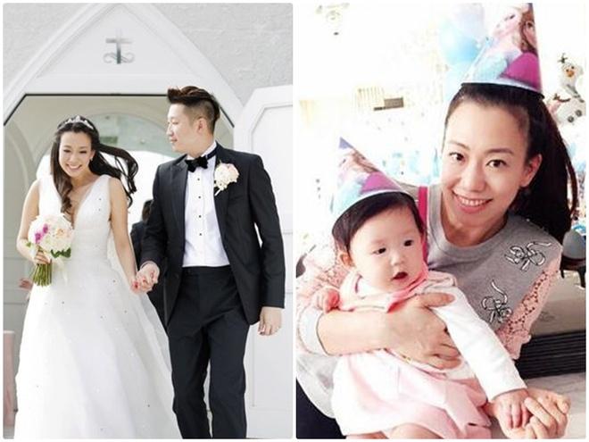 7 co vo trong phim 'Tieu Bao va Khang Hy' sau 15 nam hinh anh 13 Ngô Thần Quân đã kết hôn và có môt con gái.