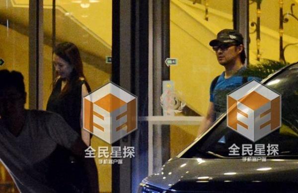 Chuong Tu Di lo bung bau khi chup anh cung Big Bang hinh anh 2 Người đẹp ngh vấn mang bầu từ tháng trước.