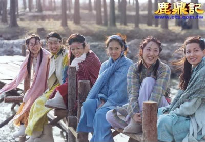 7 co vo trong phim 'Tieu Bao va Khang Hy' sau 15 nam hinh anh 1 Dàn mỹ nhân xinh đẹp của Vi Tiểu Bảo.
