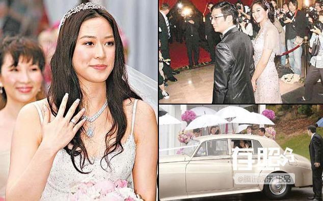 Nhung dam cuoi trieu USD cua sao chau A hinh anh 6 Đám cưới của Từ Tử Kỳ và đại gia.