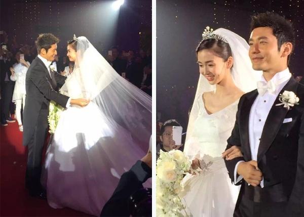 Nhung dam cuoi trieu USD cua sao chau A hinh anh 1 Đám cưới của Angelababy và Huỳnh Hiểu Minh tốn kém bậc nhất.