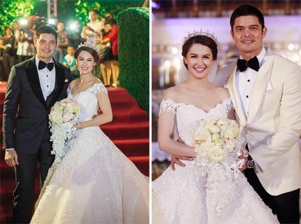 Nhung dam cuoi trieu USD cua sao chau A hinh anh 4 Marian Rivera và Dingdong Dantes tổ chức tiệc cưới hoàng gia.