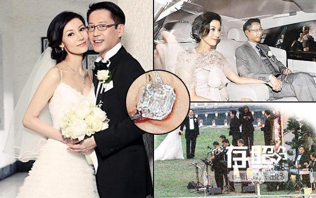 Nhung dam cuoi trieu USD cua sao chau A hinh anh 7 Lý Gia Hân bên chồng trong ngày cưới.