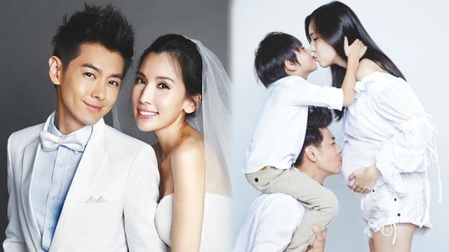 Vo Lam Chi Dinh mang song thai hinh anh 2 Gia đình viên mãn của ngôi sao xứ Đài.