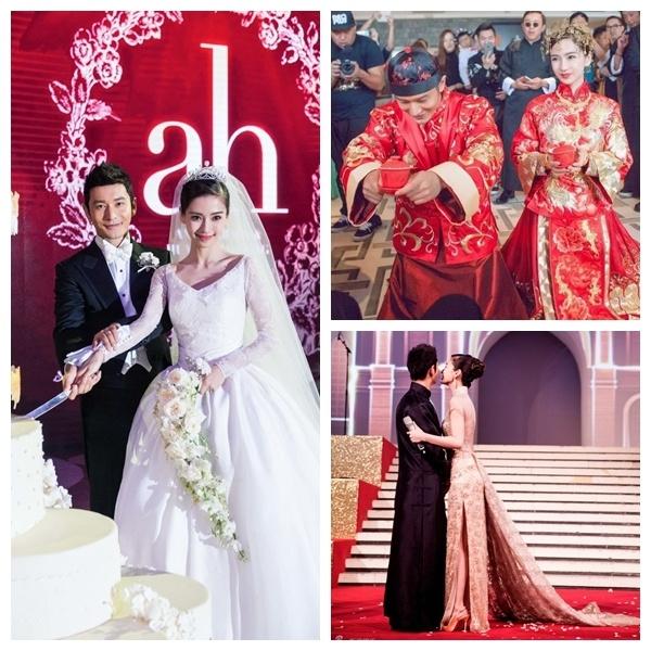 Gia san hoanh trang cua Huynh Hieu Minh va Angelababy hinh anh 3 Cặp sao quyền lực và giàu có bậc nhất nếu song kiếm hợp bích.