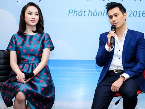 Viet Anh dat ganh nang tren vai Phuong Trinh trong phim moi hinh anh