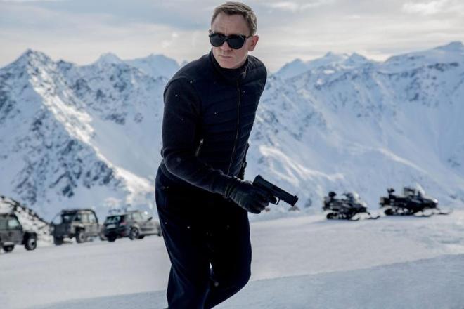 Daniel Craig tha tu rach tay con hon dong tiep James Bond hinh anh 1