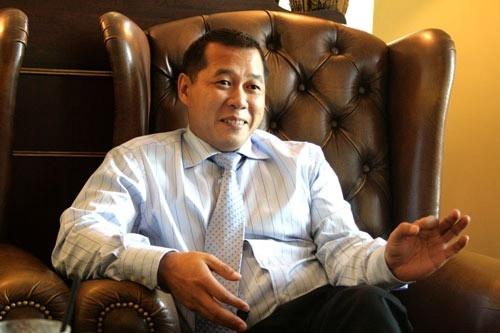 Ông Nguyễn Quốc Toàn - chồng đại gia của Á hậu Dương Trương Thiên Lý