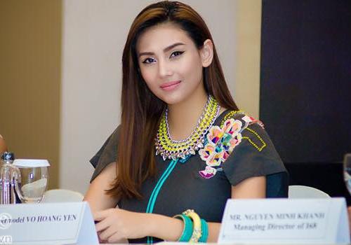 Hoang Yen, Ngo Thanh Van va nghi an nguoi thu 3 day cay dang hinh anh