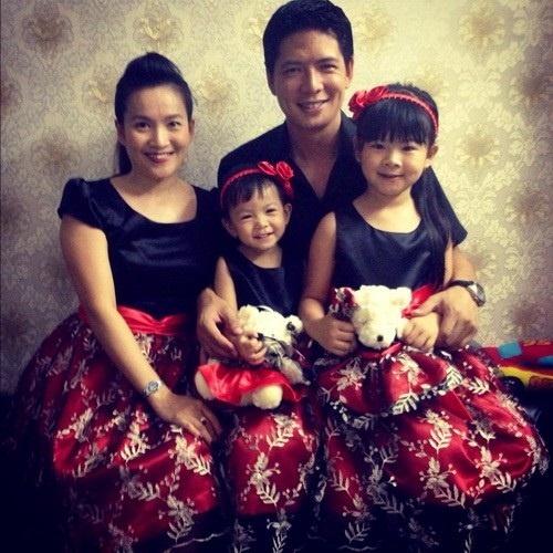 Vo Binh Minh dung chieu gi de giu chong? hinh anh 2 Gia đình hạnh phúc của Bình Minh-Anh Thơ