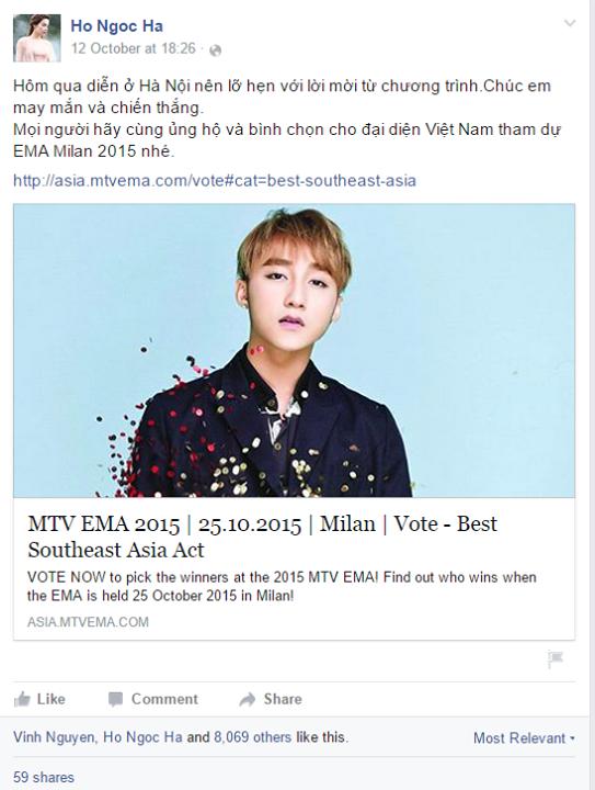Loi the cua Son Tung M-TP khi tranh giai tai MTV EMA 2015 hinh anh 4