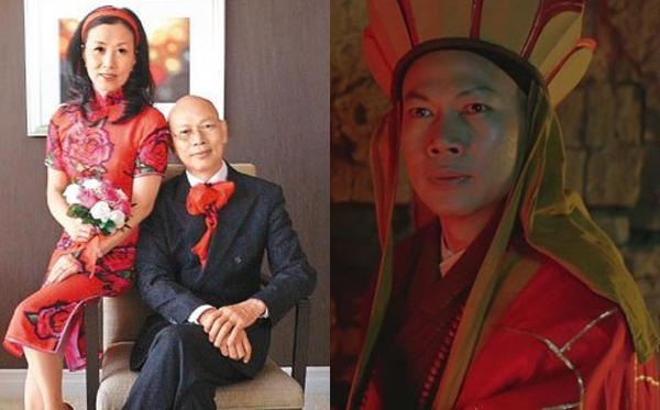 La Gia Anh bên Uông Minh Thuyên (trái) và trong phim năm xưa.