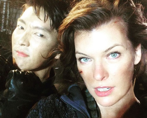 Lee Jun Ki tham gia bom tan Hollywood 'Resident Evil 6' hinh anh