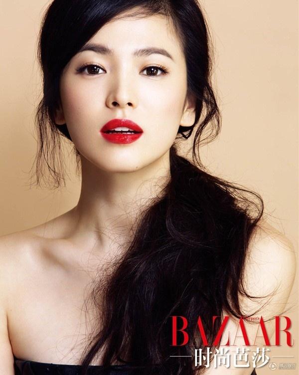 20 minh tinh la bieu tuong sac dep cua showbiz Han hinh anh 16 Song Hye Kyo được ví von là người đẹp