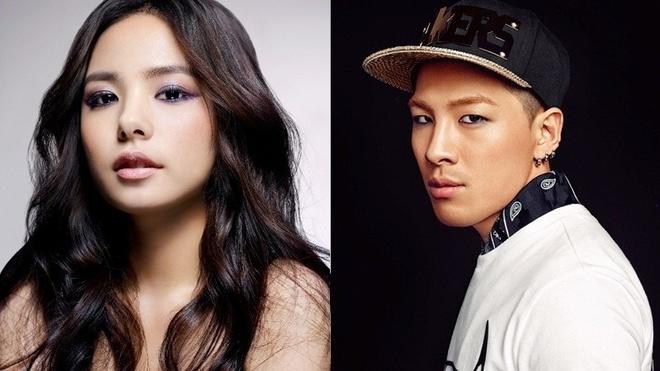 Ban gai chan dai den ung ho Taeyang Big Bang hinh anh 2 Cặp đôi công khai hẹn hò từ tháng 6 vừa qua.