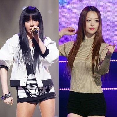 Jessica, Park Bom va loat sao nu Han bi nghi ban dam hinh anh 2 Park Bom và Sulli cũng bị nghi vấn. Dư luận cho rằng đây là tin tức sai sự thật.