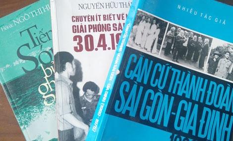 Sach lich su: Can nhieu hon nhung be do truyen thong hinh anh 1 Sách xuất bản khá đa dạng trong nhiều năm trở lại đây.