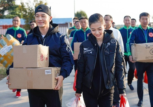 Angelababy ve que Huynh Hieu Minh sau dam cuoi hinh anh