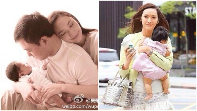 Sieu mau Dai mang bau hai lan van chua len xe hoa hinh anh 3 Siêu mẫu Đài Loan sáp có hai mặt con với Kỷ Hiểu Ba nhưng chưa đăng ký kết hôn.