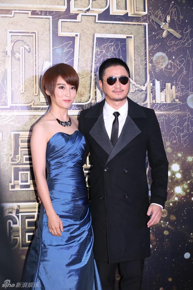 Kim Hee Sun goi cam giua dan sao Hoa ngu tren tham do hinh anh 3 Vợ chồng diễn viên Tạ Nam và Ngô Kinh. Tài tử Ngô Kinh thời gian gần đây không còn tham gia các dự án phim võ thuật vì chấn thương.
