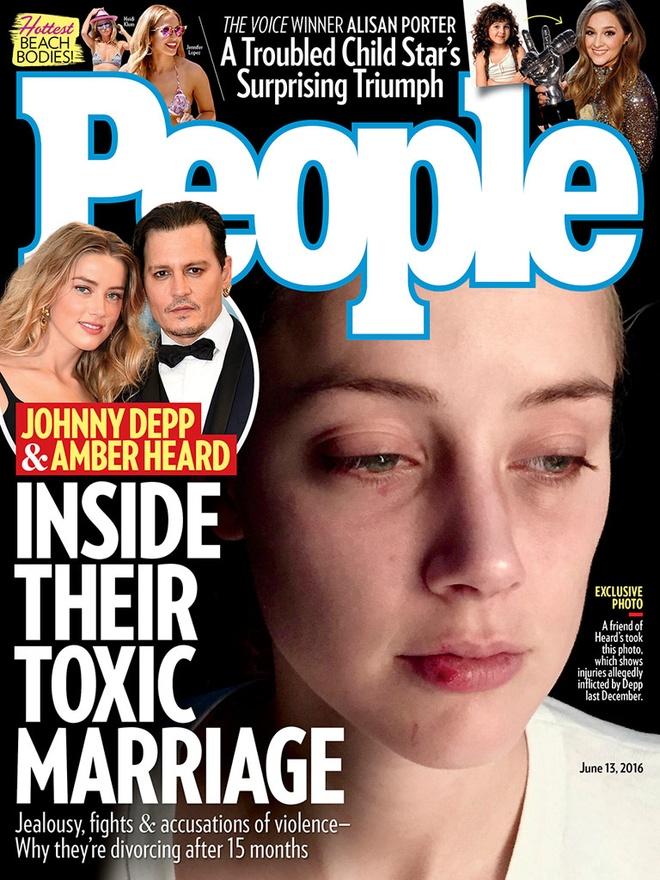 Johnny Depp va vo cu Amber Heard tiep tuc loi qua tieng lai hinh anh 1