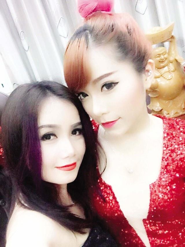 Dien vien Hoang Yen ke chuyen day con va lam me luc 18 tuoi hinh anh 2 Hoàng Yến và con gái lớn Yến My.