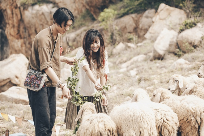 Bich Phuong yeu chang trai mien nui trong MV moi hinh anh 4