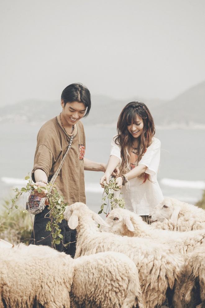 Bich Phuong yeu chang trai mien nui trong MV moi hinh anh 3