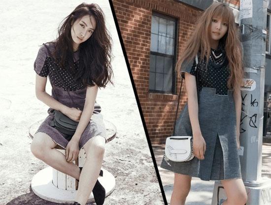 Nhung vu dung hang moi gay chu y nhat cua my nhan Han hinh anh 8 Victoria (F(x)) và Sooyoung